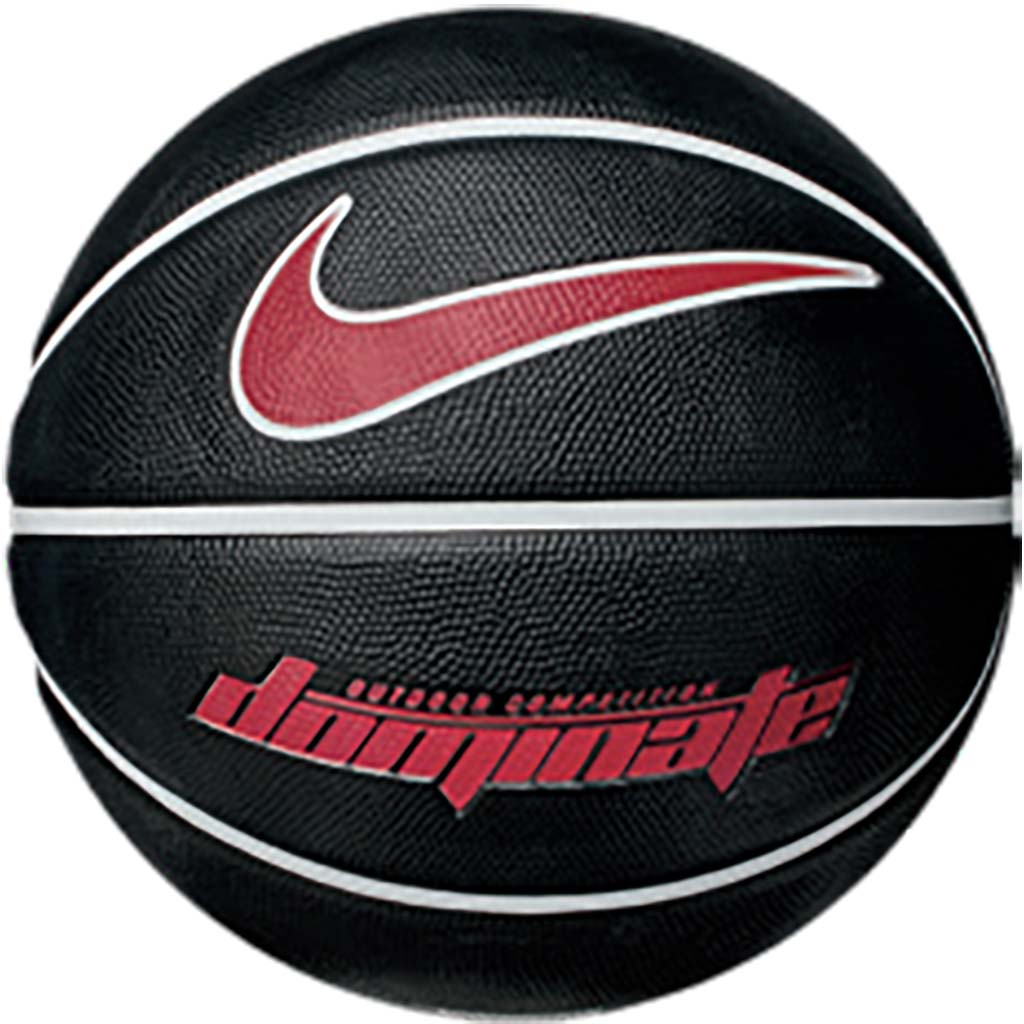 Nike Dominate outdoor basketball black red