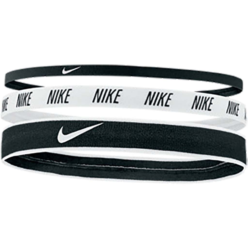 Nike Mixed Width Hairbands 3pk bandeaux sport pour cheveux tailles variables