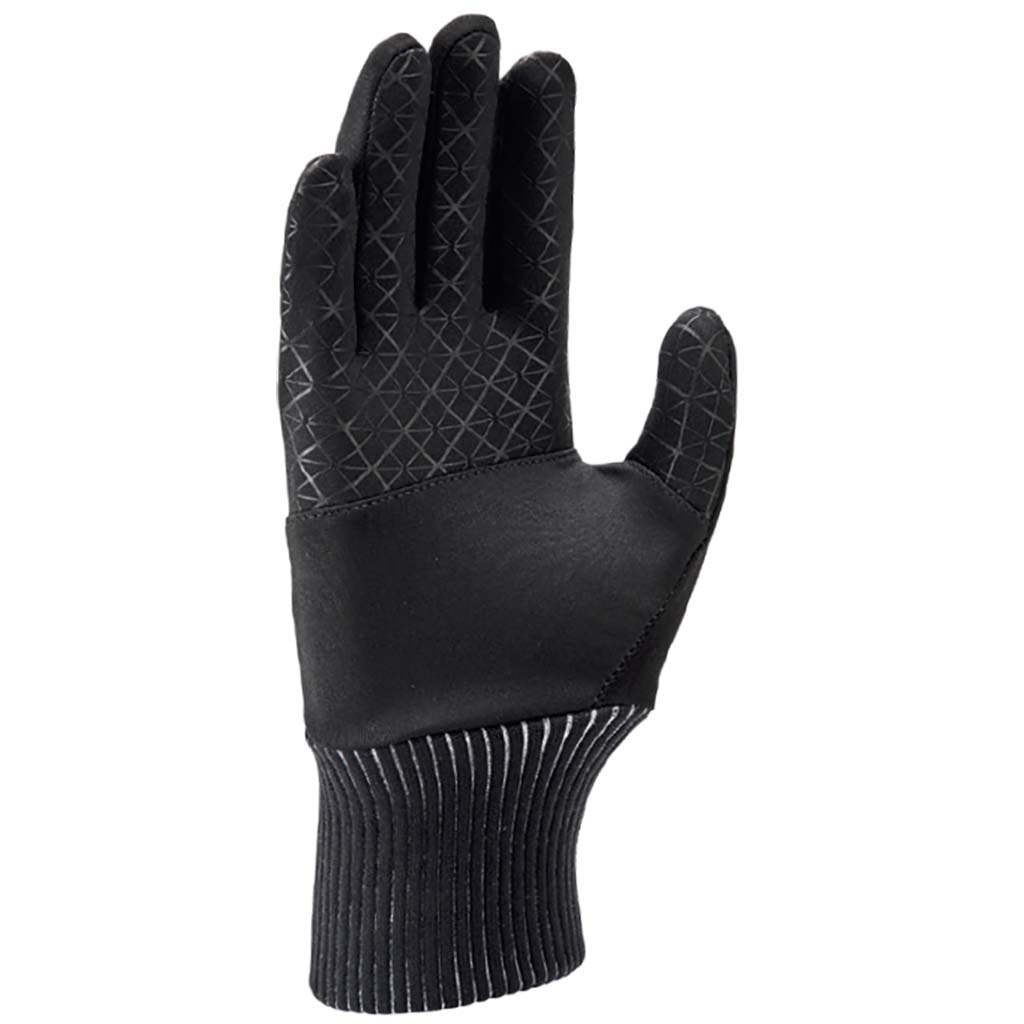 Nike Shield women's running gloves black palm