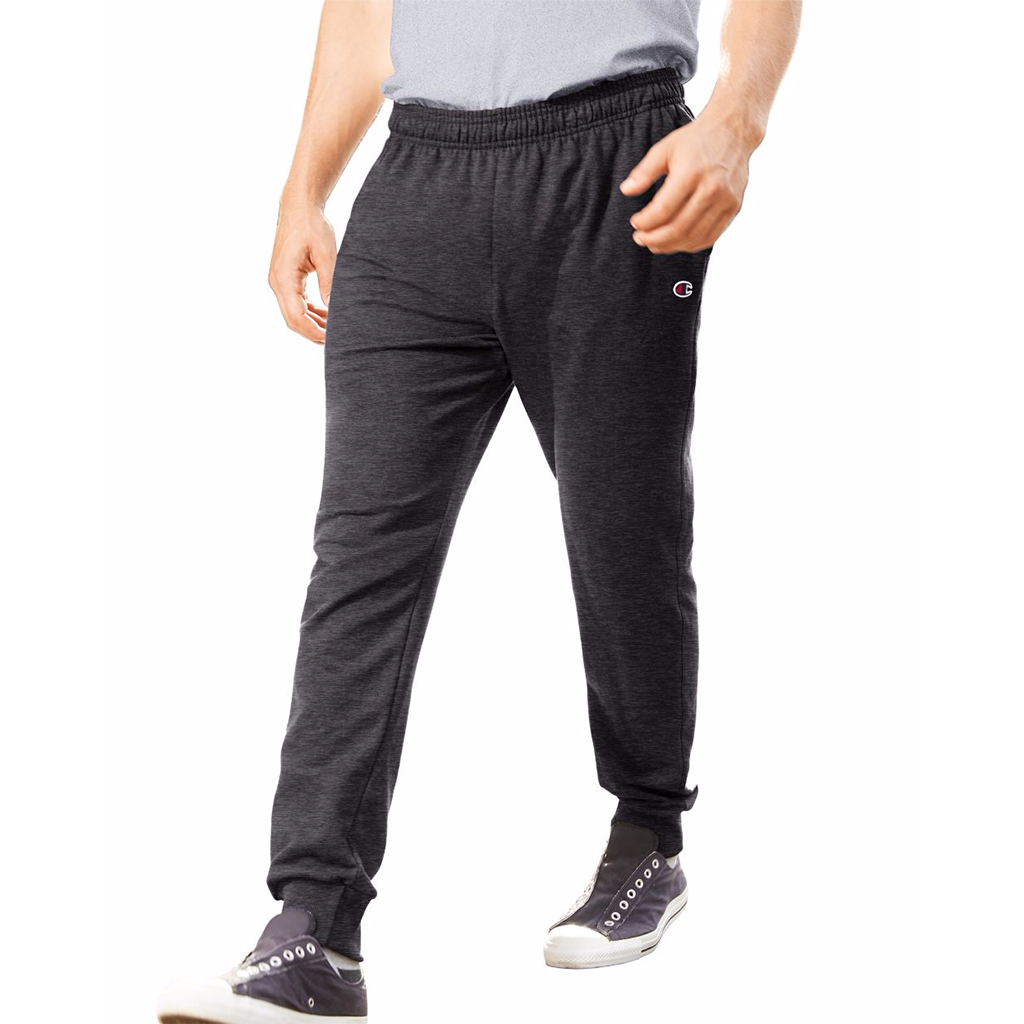 Champion French Terry pantalon jogger en molleton noir pour homme