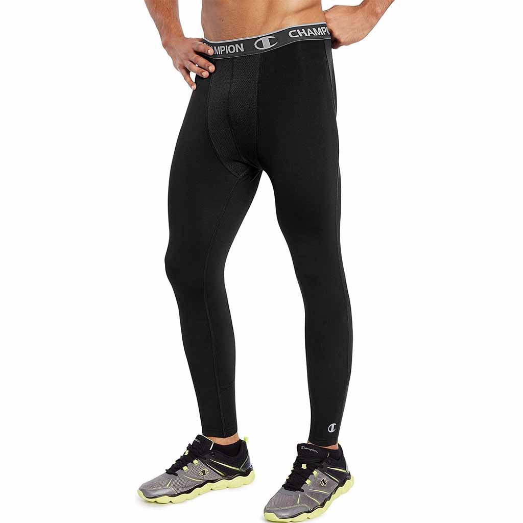 Champion Power Flex legging de compression pour homme noir