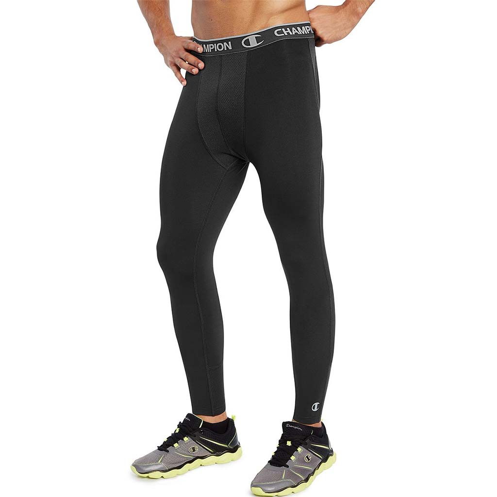 Champion Power Flex legging de compression pour homme stealth
