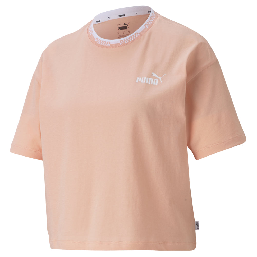 T-shirt Puma Amplified Tee pour femme Light Lavender modèle 2