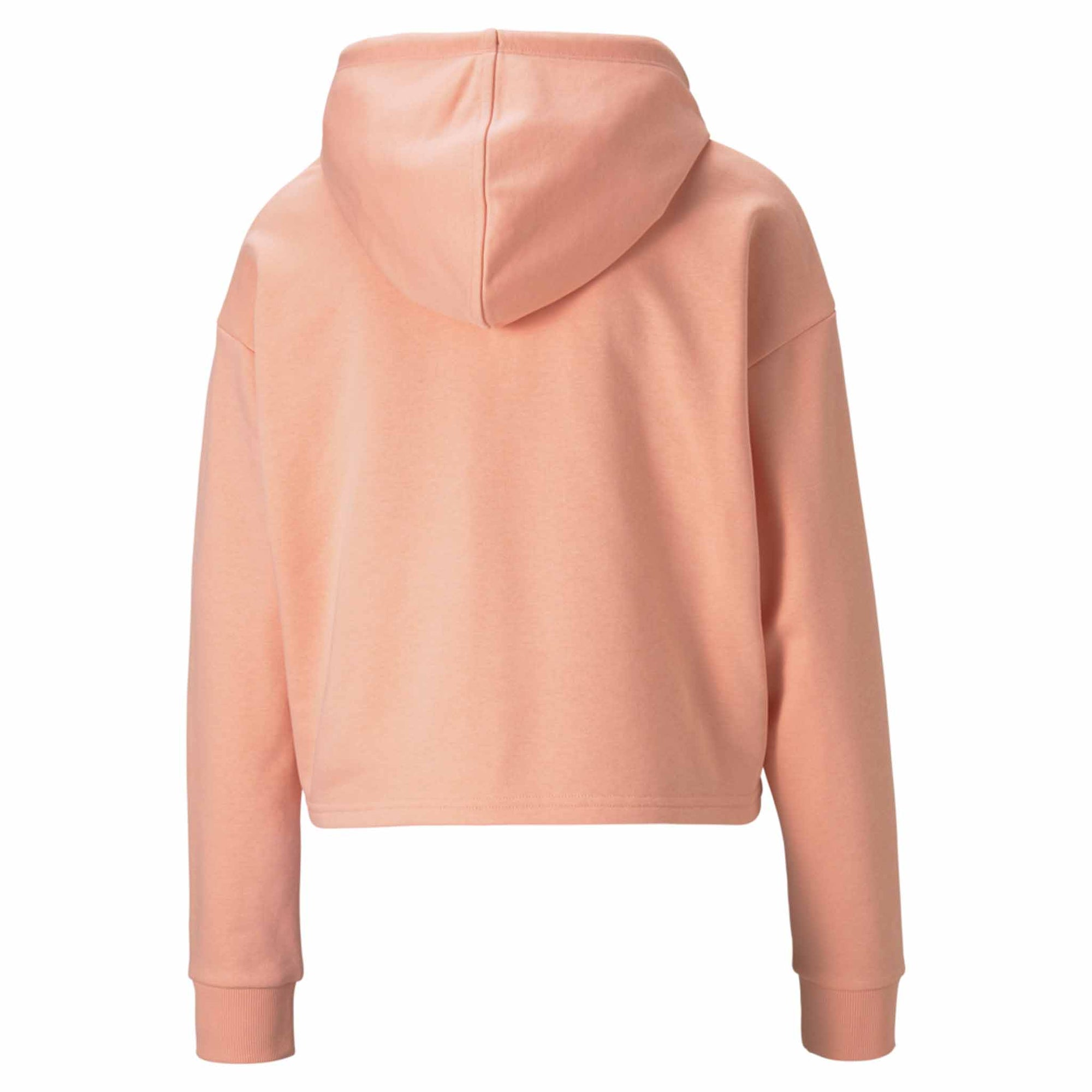 Puma Sweatshirt Essential Cropped Logo Hoodie rose