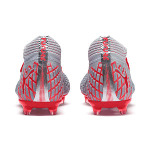 Puma Future 4.1 Netfit FG AG soccer shoes red rv