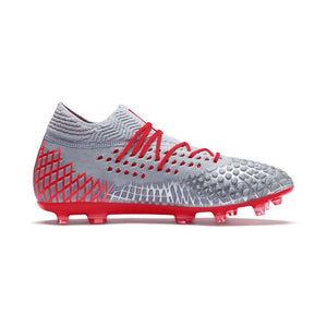 Puma Future 4.1 Netfit FG AG soccer shoes red lv