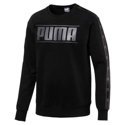 Chandail molletonne col rond Puma Rebel Tape Crew  pour homme