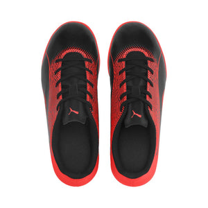 Puma Spirit II junior interior soccer shoes black red uv