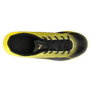 Puma Spirit II junior interior soccer shoes black yellow uv