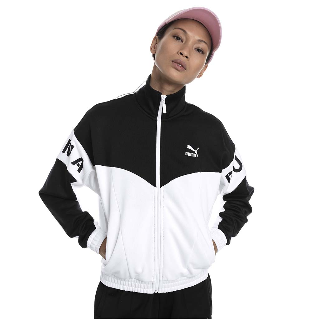 Puma XTG 94 track jacket women white black lv1
