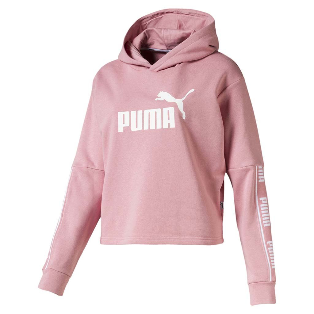 Puma Amplified Women's Cropped Hoodie bridal rose