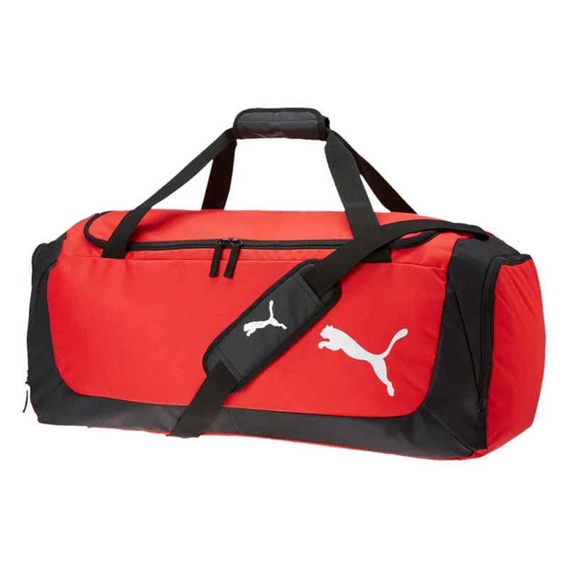 Puma Football Medium Duffle Bag Sac de soccer rouge