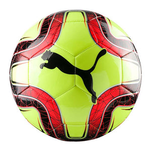 Puma Final 6 MS ballon de soccer jaune rouge