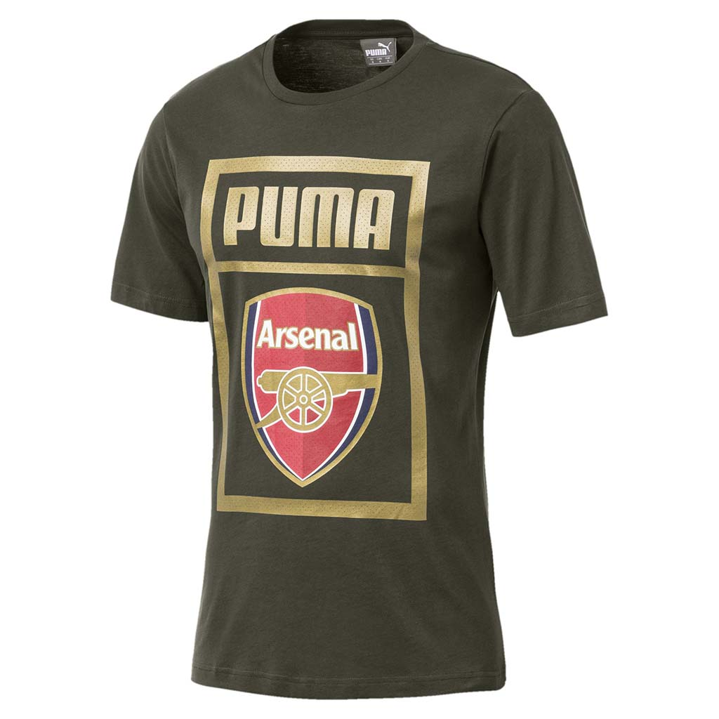 T-shirt Arsenal FC fan en coton Puma