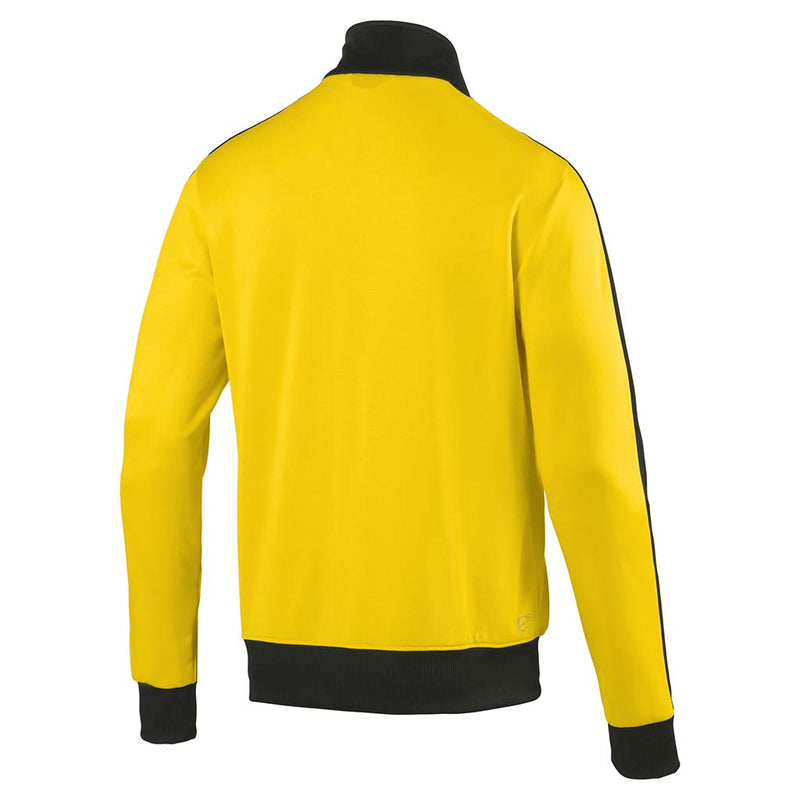 Veste de survetement Puma BVB T7 Track Jacket jaune rv2