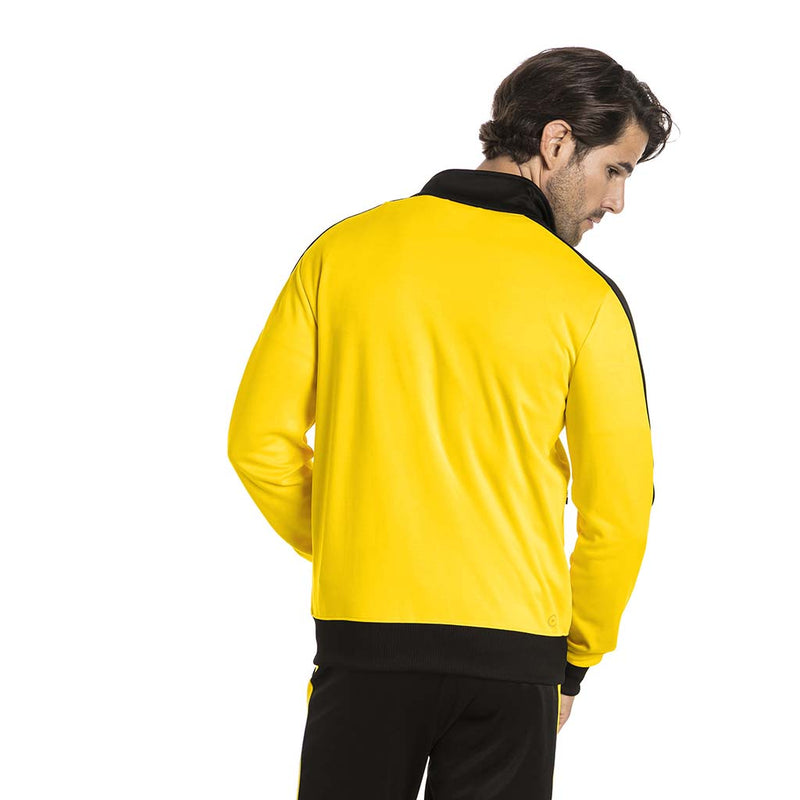 Veste de survetement Puma BVB T7 Track Jacket jaune rv1