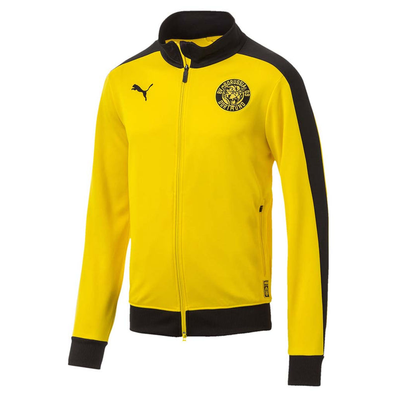 Veste de survetement Puma BVB T7 Track Jacket jaune