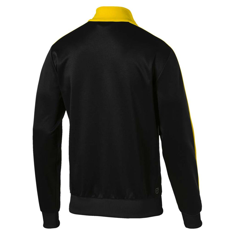 Veste de survetement Puma BVB T7 Track Jacket noir rv