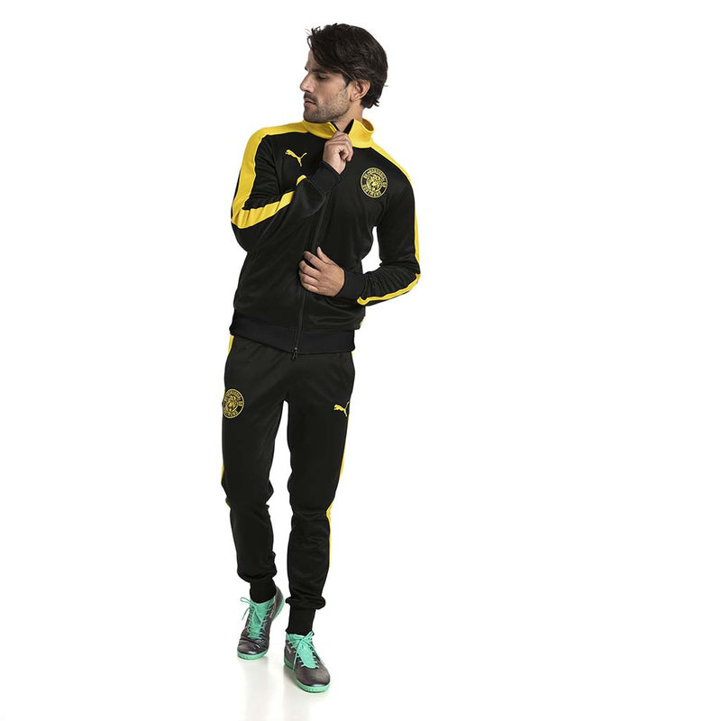 Veste de survetement Puma BVB T7 Track Jacket noir lv2