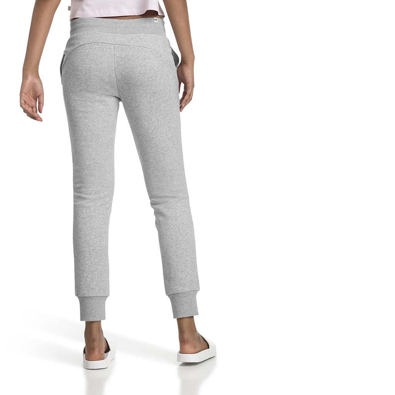 Pantalon de survetement Puma Essential Sweatpants gris pour femme lv3