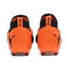 Chaussure de soccer Puma Future 2.2 Netfit FG orange rv