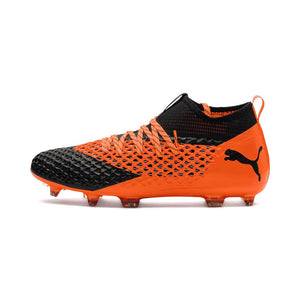 Chaussure de soccer Puma Future 2.2 Netfit FG orange