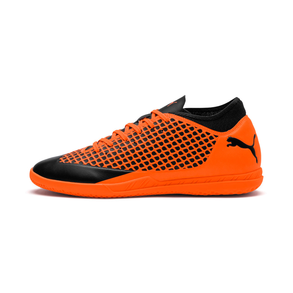 Puma Future 2.4 IT chaussure de soccer interieur noir orange