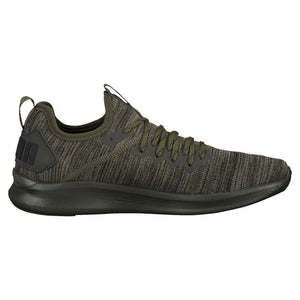 Puma Ignite Flash Evoknit chaussure d'entrainement homme vert foret lv