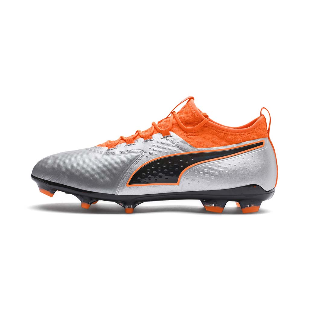 Cuir Leather Chaussure Puma De Soccer Fg One 2 Rwqq70B