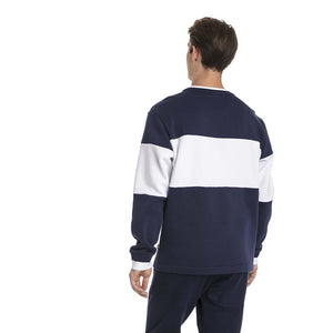 Chandail en molleton Puma Rebel Block Fleece bleu pour homme lv2