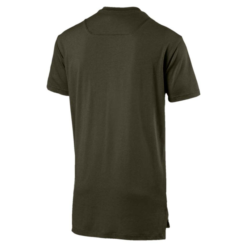 T-shirt Puma Energy Triblend Graphic Tee pour homme vert foret rv