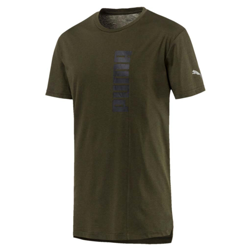 T-shirt Puma Energy Triblend Graphic Tee pour homme vert foret