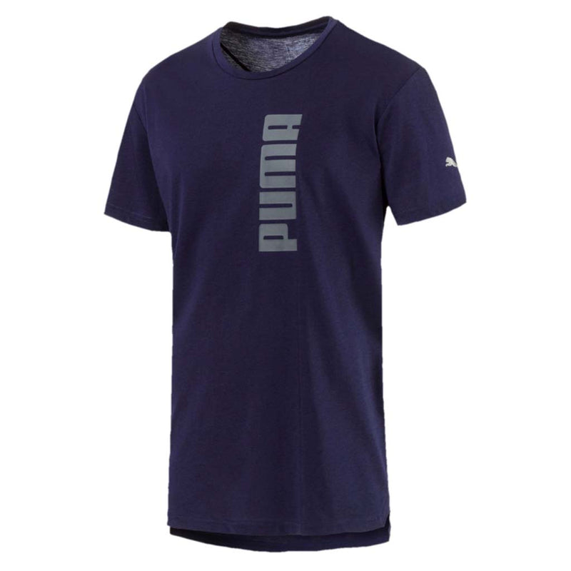 T-shirt Puma Energy Triblend Graphic Tee pour homme peacoat