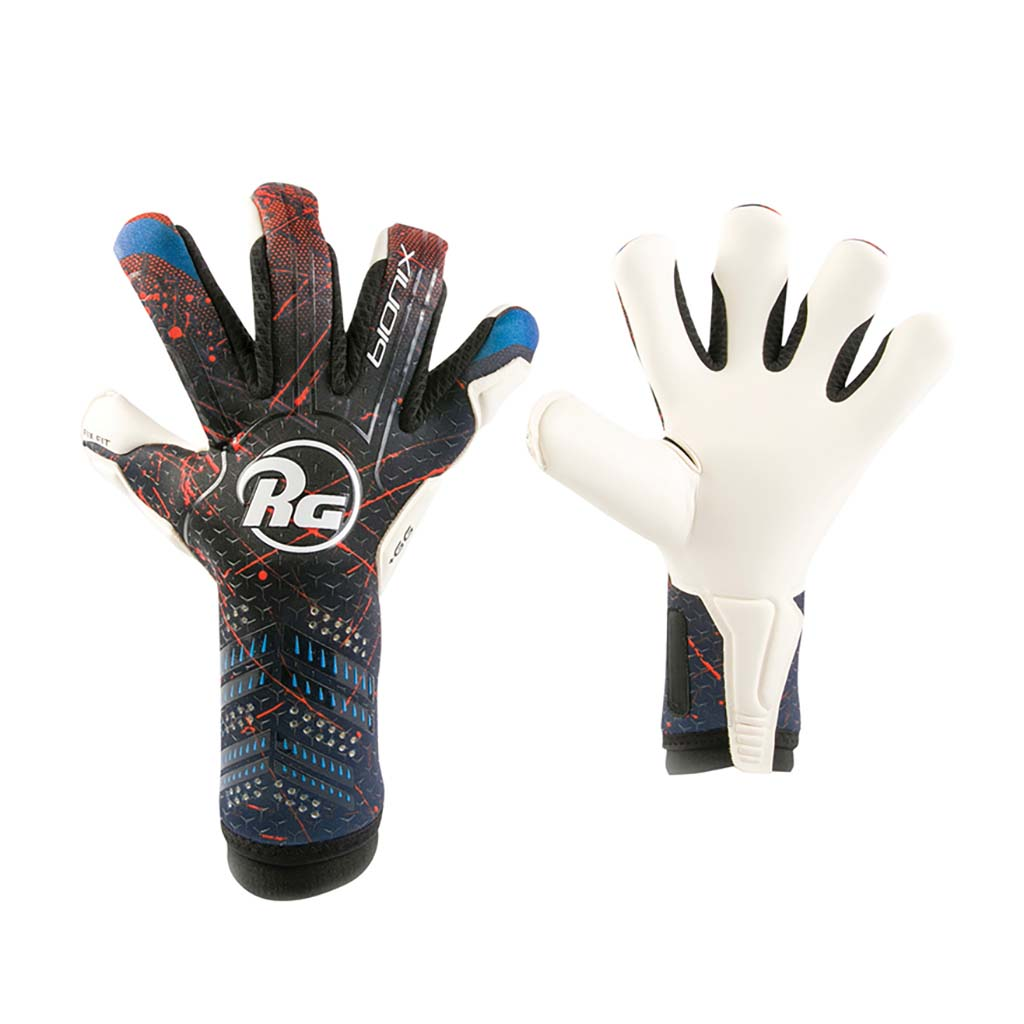 RG Goalkeeper Gloves Bionix Roll Negative soccer gloves pv