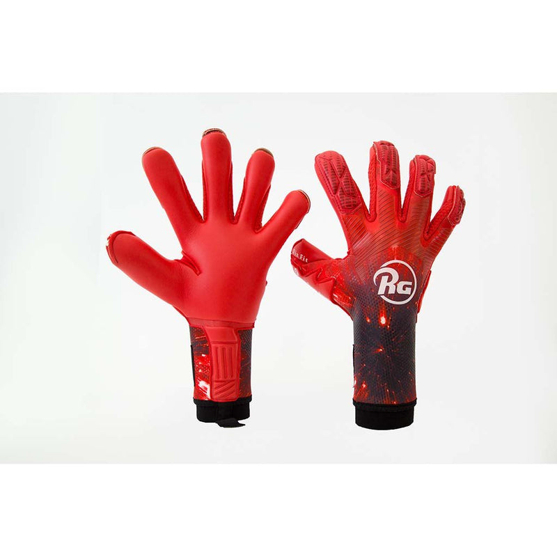 RG Goalkeeper Gloves Snaga Rosso CHR vue paire