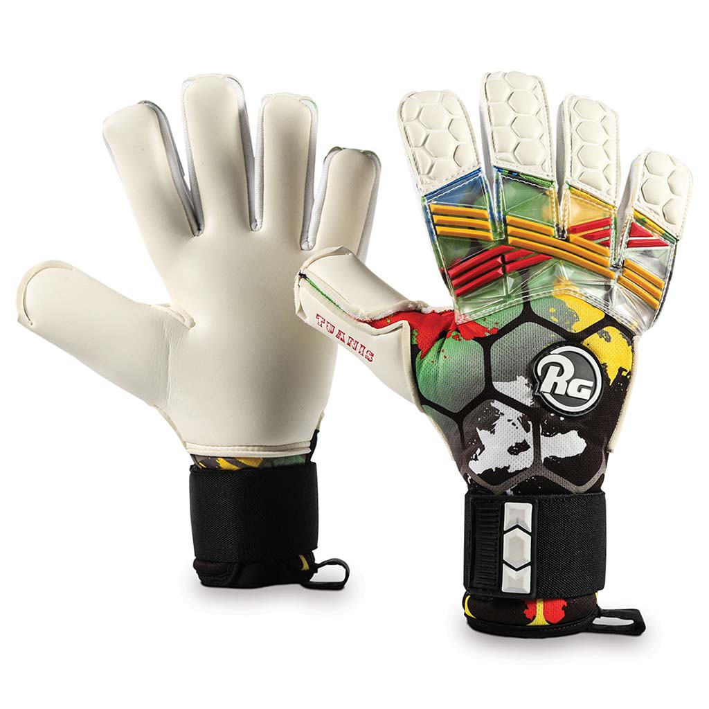 RG Goalkeeper Gloves Tuanis gants de gardien de but de soccer