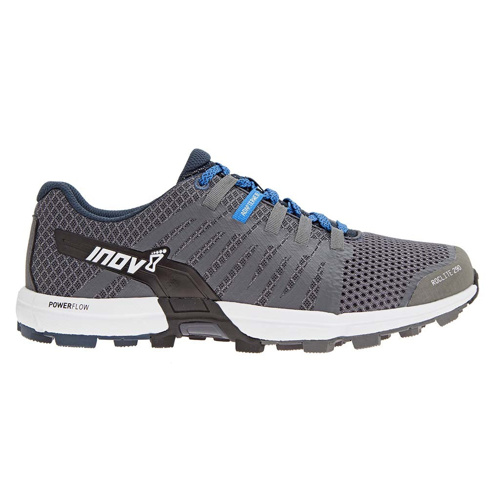 INOV-8 Roclite 290 trail running shoes grey blue