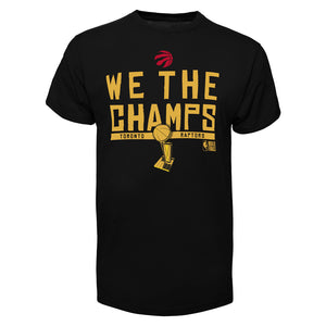 Toronto Raptors NBA We The Champs Playoff T-Shirt manches courtes