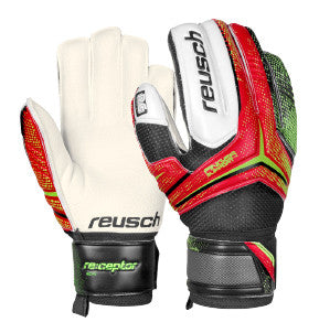 Reusch Receptor RG Finger support gants de gardien de but de soccer junior