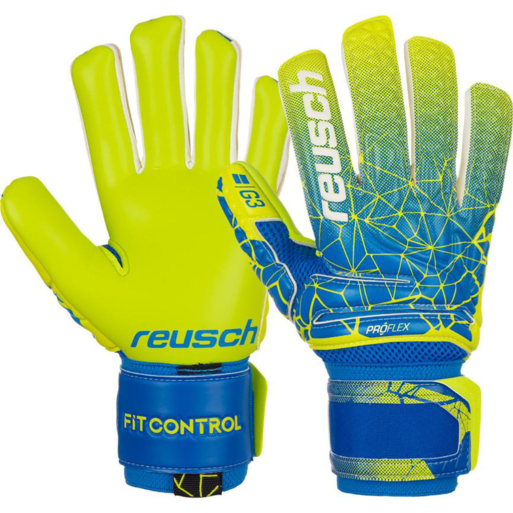 Reusch Fit Control Pro G3 Negative Cut soccer gloves pair