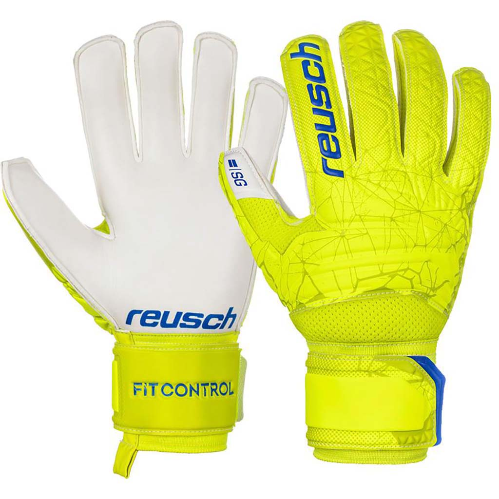 Reusch Fit Control SG soccer gloves pair