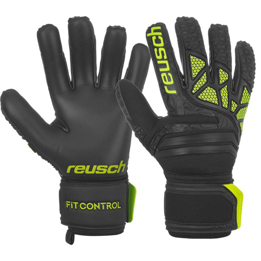 Reusch Fit Control FreeGel MX2 soccer gloves pair