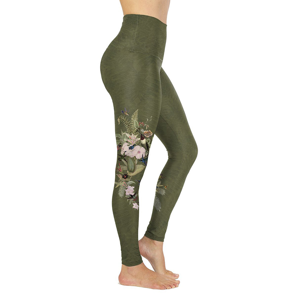 Rose Buddha Leggings Colibrus