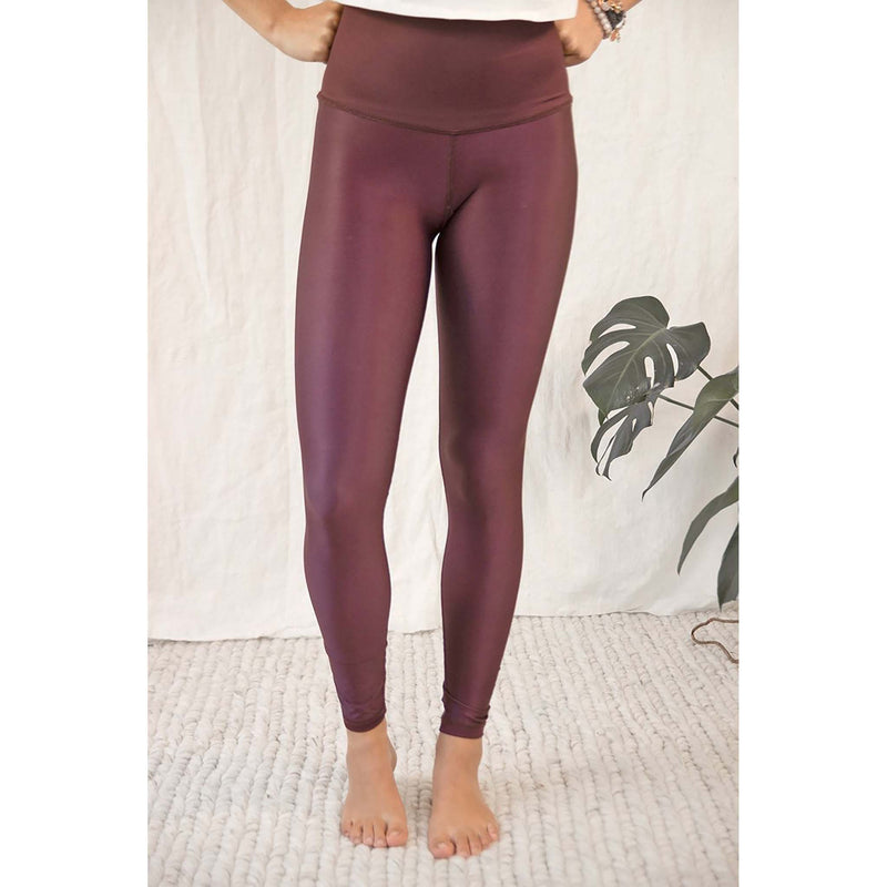 Rose Buddha legging de yoga Lune Mystique revers