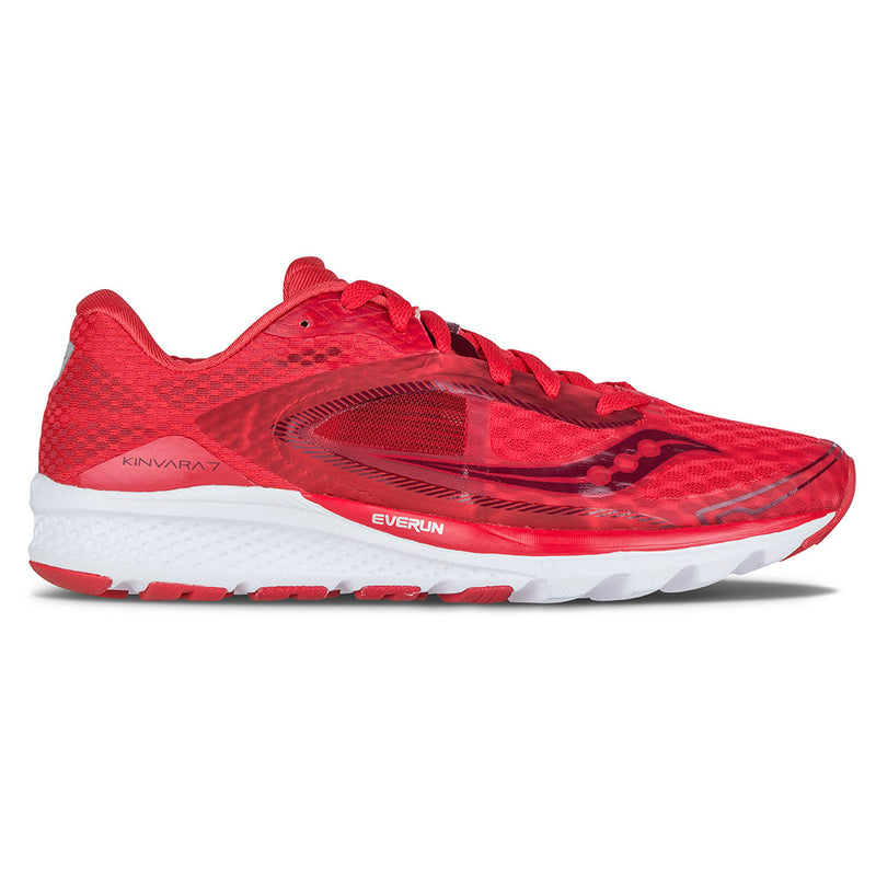 Saucony Kinvara 7 chaussure de course a pied femme race day red
