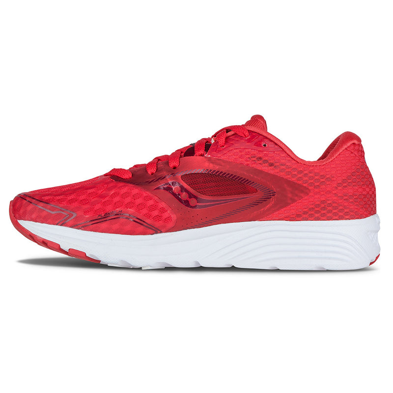 Saucony Kinvara 7 chaussure de course a pied femme race day red lv