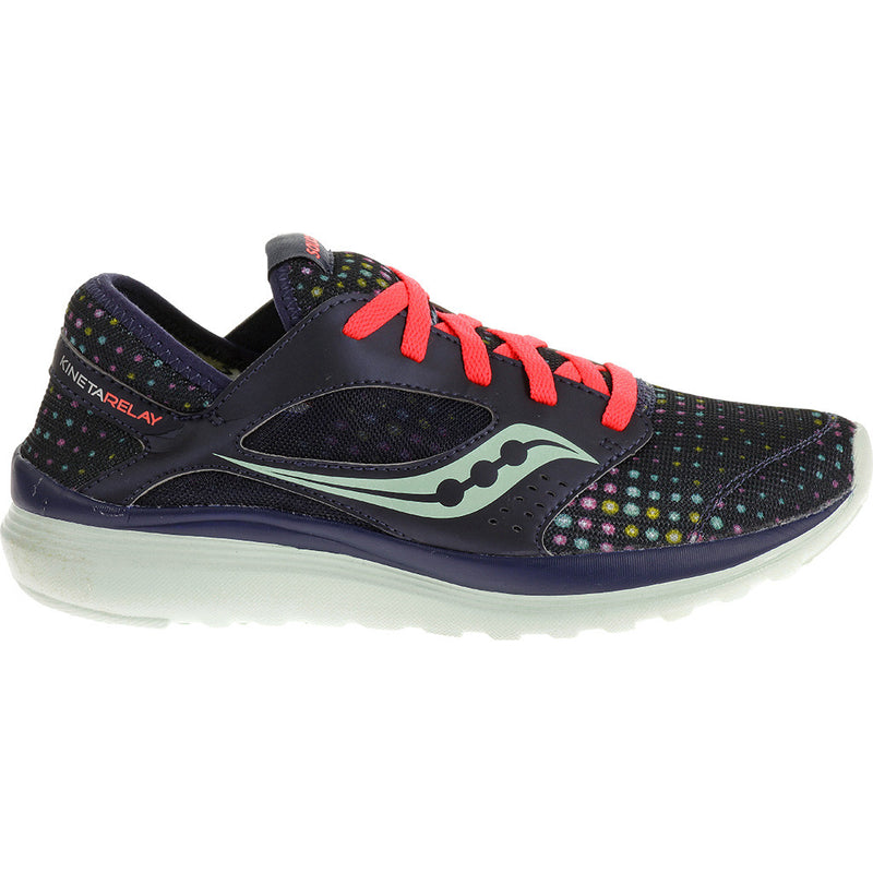 Chaussure d'entrainement femme Saucony Kineta Relay marine