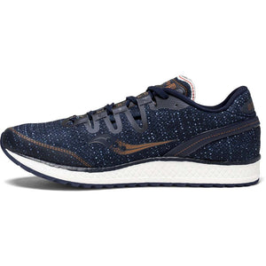 Saucony Freedom Iso chaussure de course a pied bleu marine homme lv