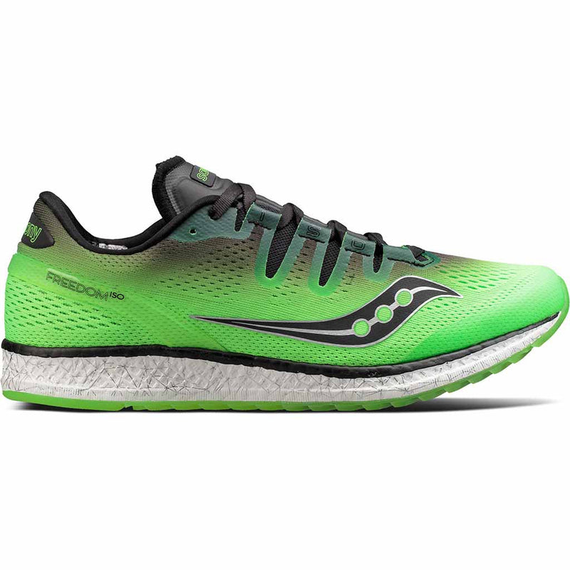 Saucony Freedom Iso chaussure de course a pied homme slime black