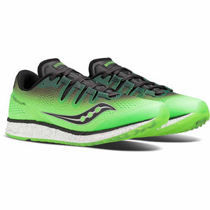 Saucony Freedom Iso chaussure de course a pied homme slime black paire